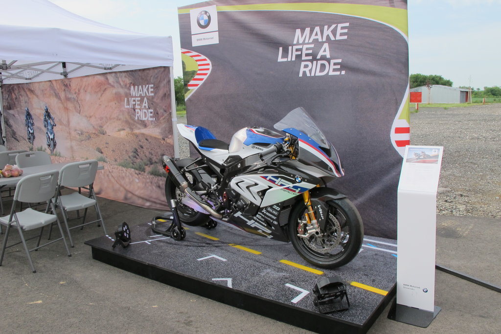 BMW Road Show 2018 - BMW HP4 Race