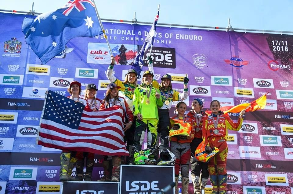 Woman trophy - ISDE 2018