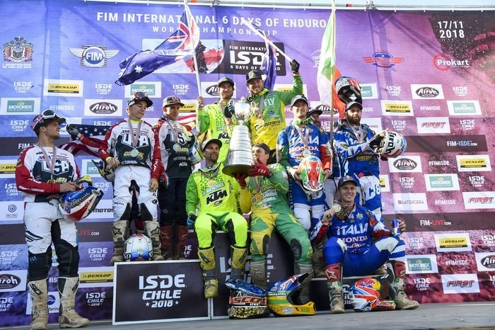 World trophy - ISDE 2018