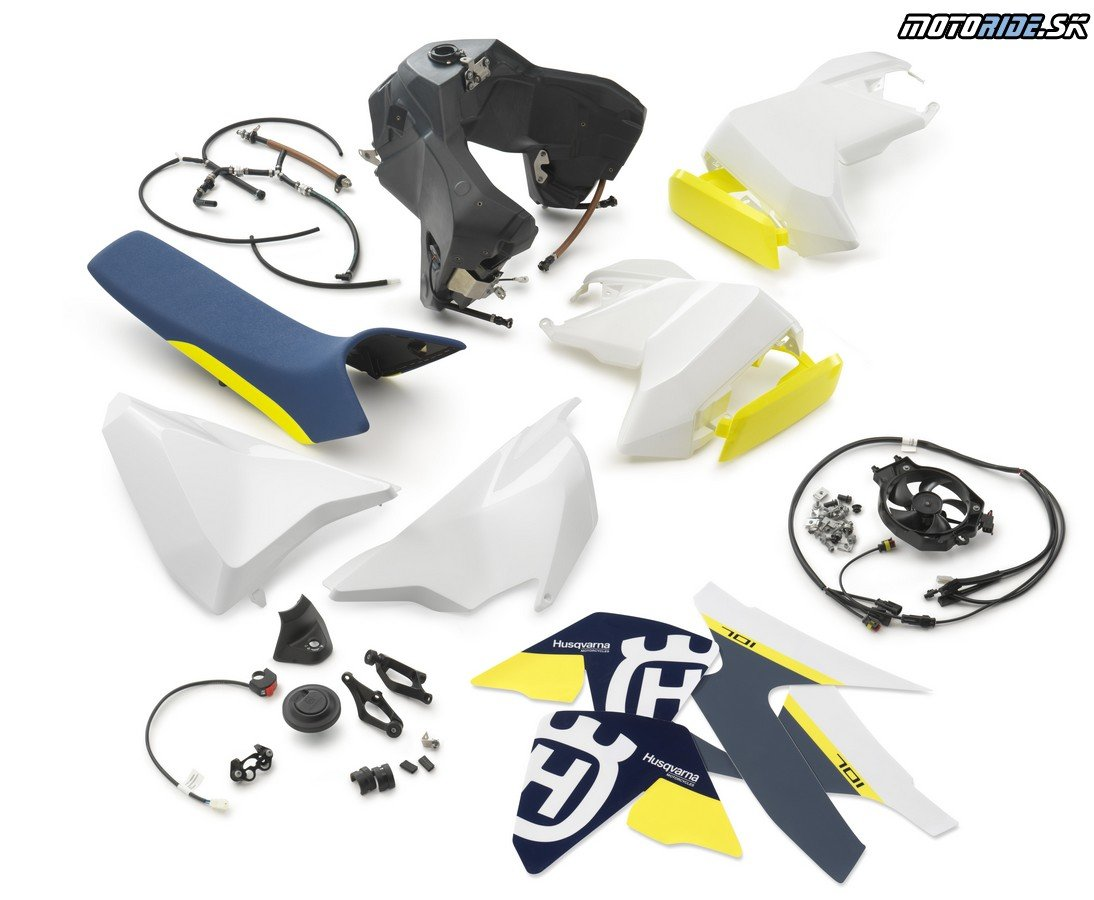 ENDURO ADDITIONAL FUEL TANK KIT