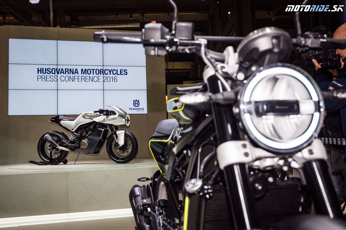 Husqvarna Motorcycles - Press Conference EICMA 2016